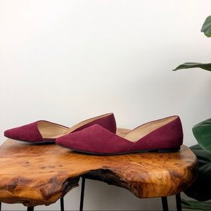 Chinese Laundry Z-Endless Love Wine Flats 6.5